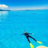 石垣ブルーの海