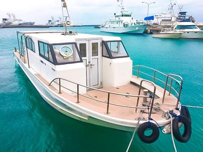 ダイビング船